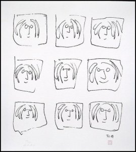 "John Lennon, ""9 Portraits"""