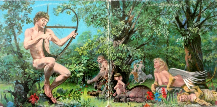 Good news: She's a satyr. Bad news: She has elephant feet. http://wp.me/p1caRd-16k
