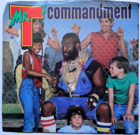 I pity the fool who smell my crotch!
