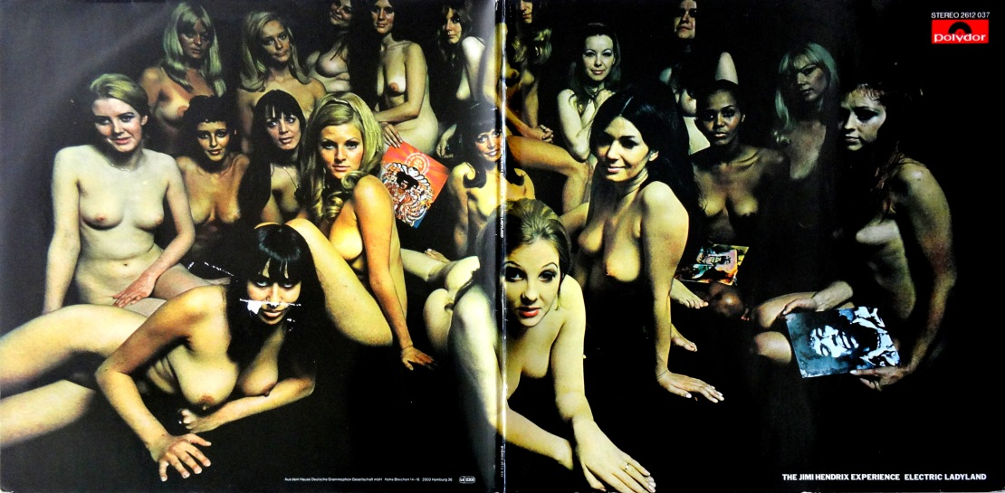 Hendrix Electric Ladyland Nude Cover