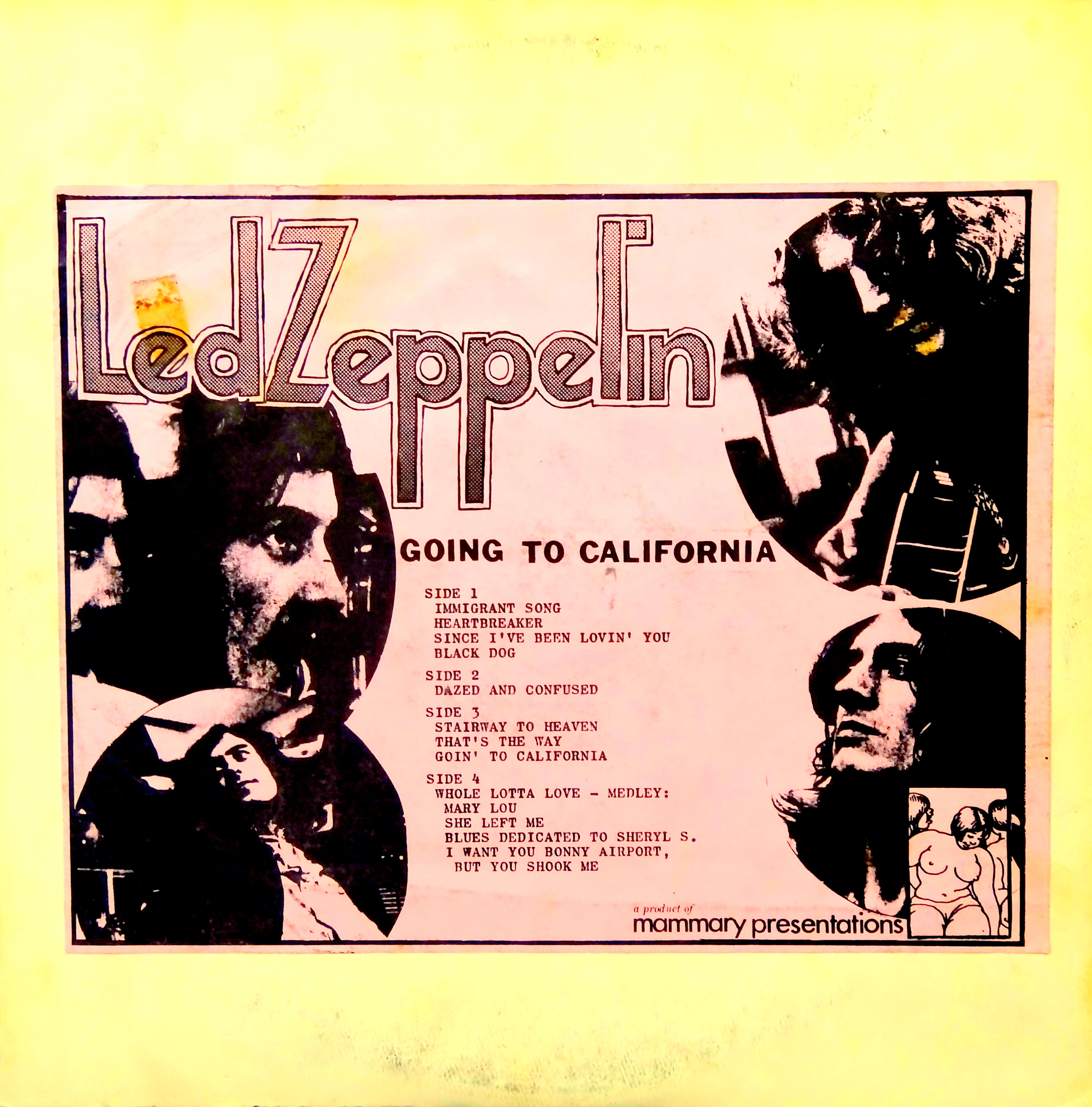 From The Stacks Led Zeppelin Going To California Why