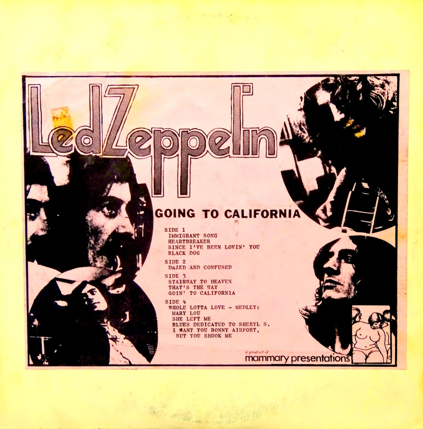 Led Zeppelin Going to California