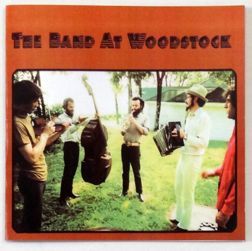 the band at woodstock cd