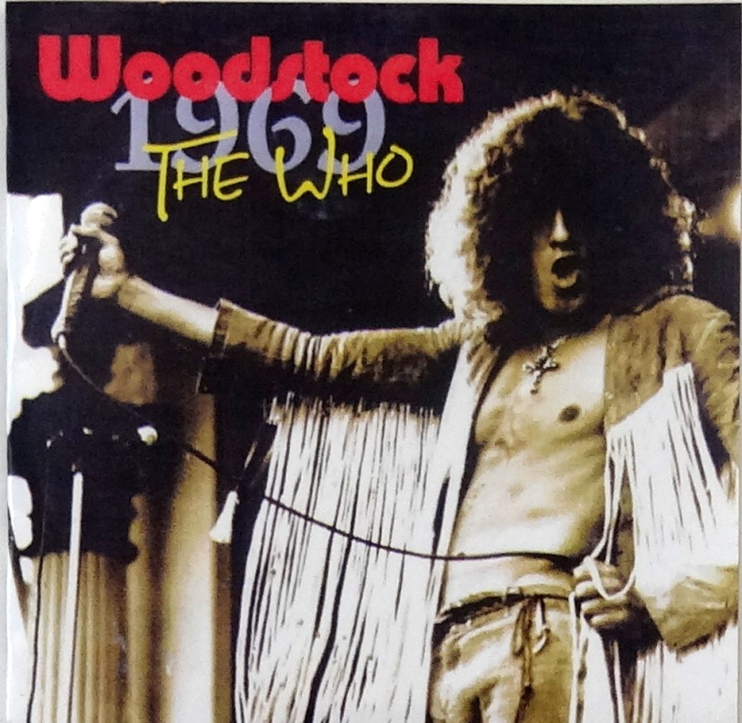 the who woodstock cd