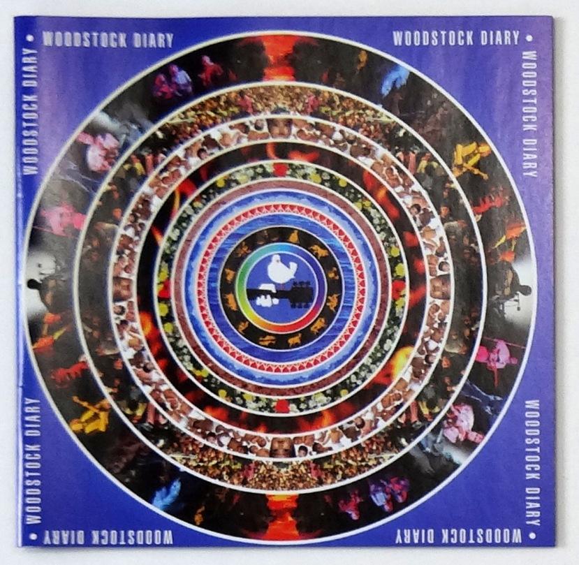 woodstock diary cd