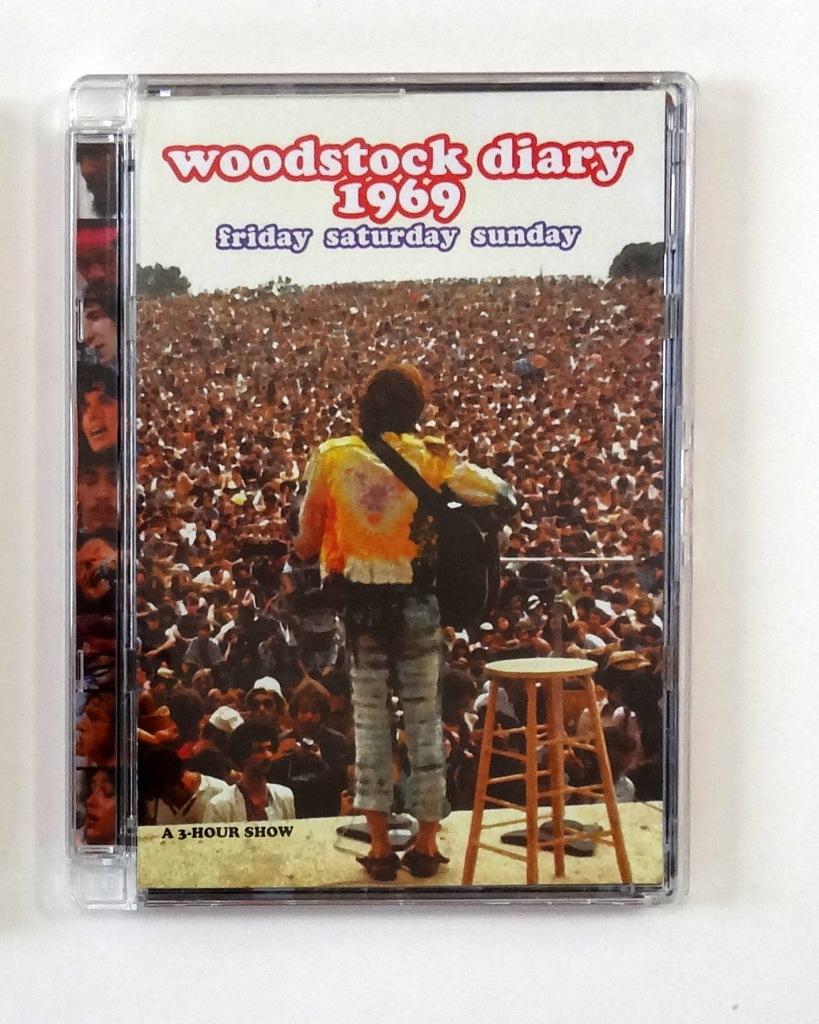 woodstock diary dvd