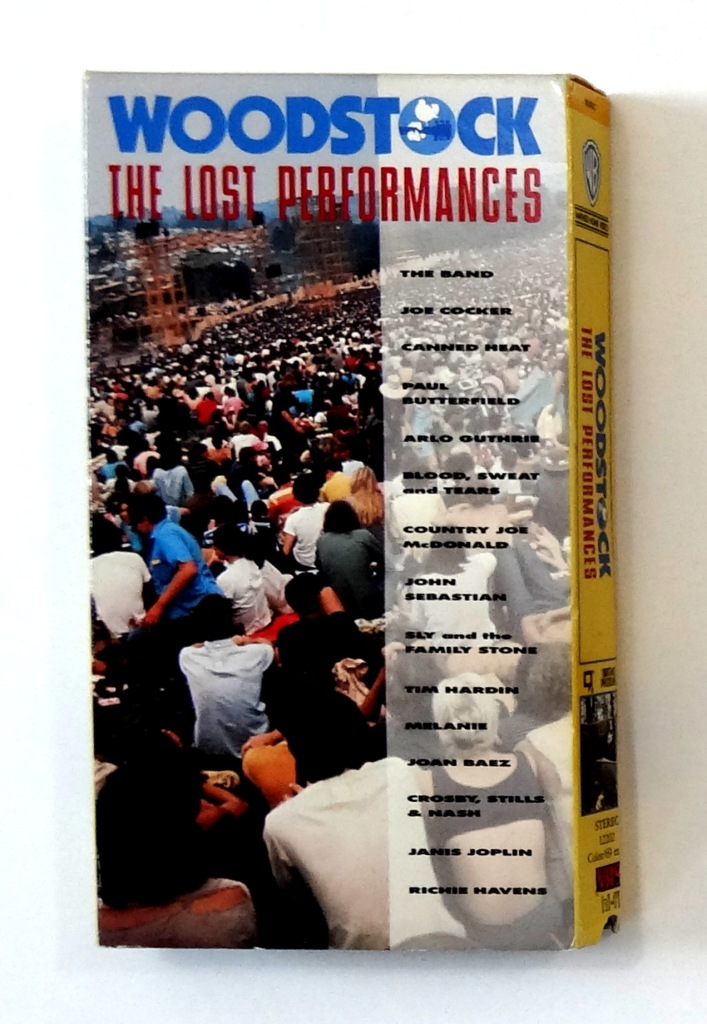 woodstock the lost performances vhs