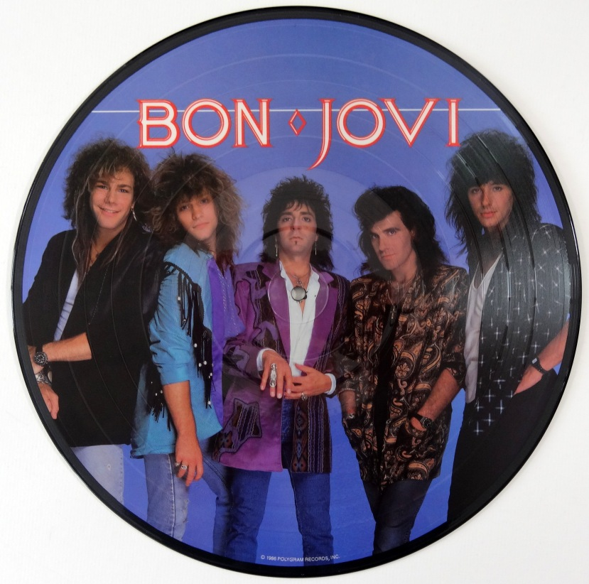 bon jovi slippery pic disc rear