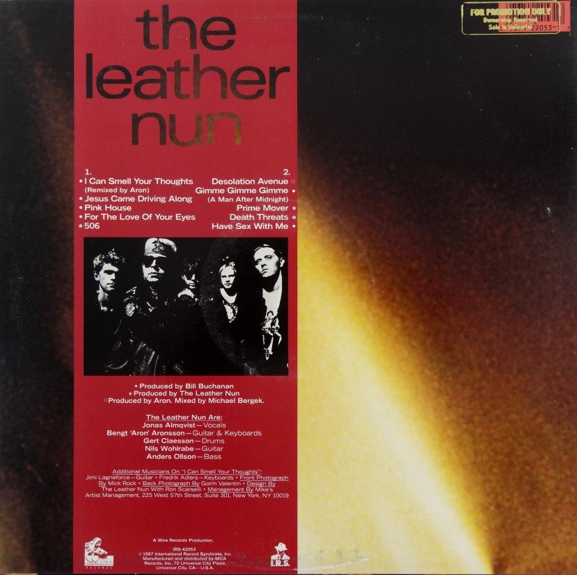 leather nun force of habit rear