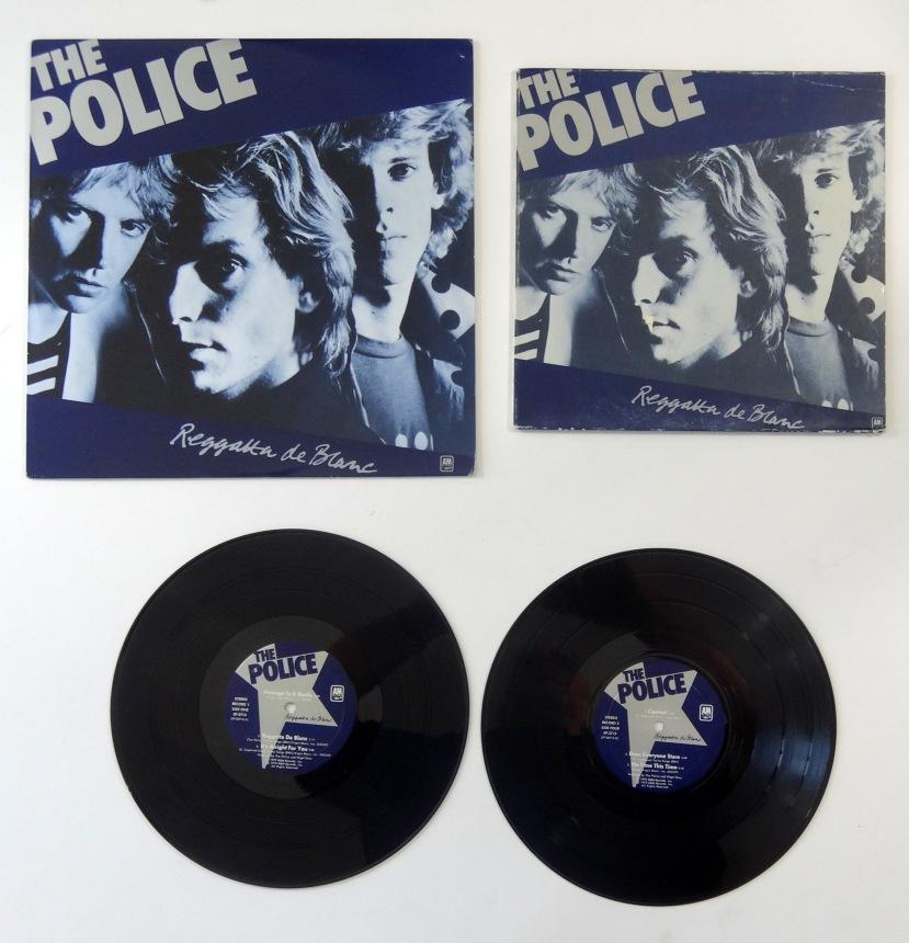 police regatta de blanc mini
