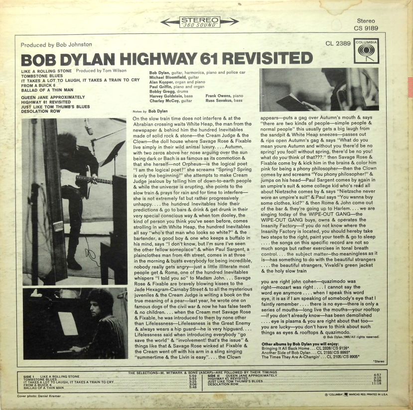 bob dylan highway 61 2
