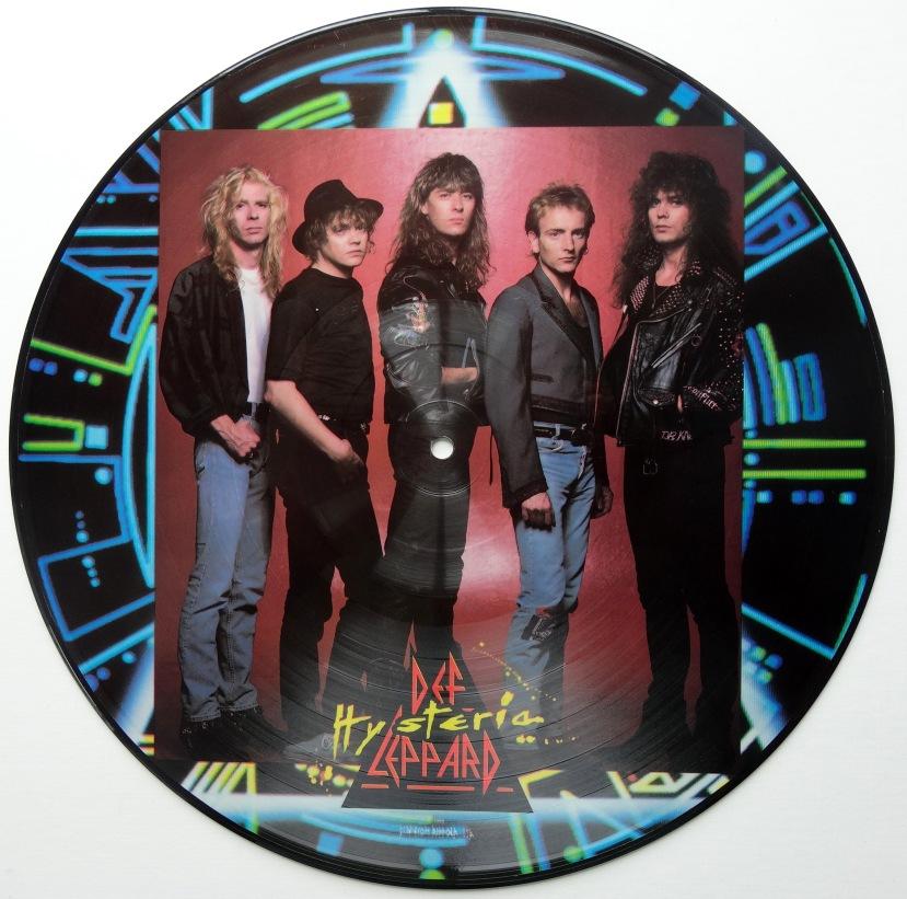 def leppard hysteria picture disc 2