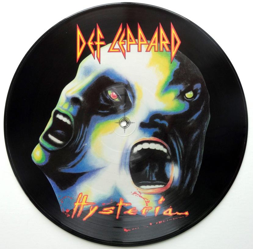 def leppard hysteria picture disc