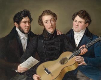 Benjamin_Heinrich_Orth_Drei_Freunde_1835