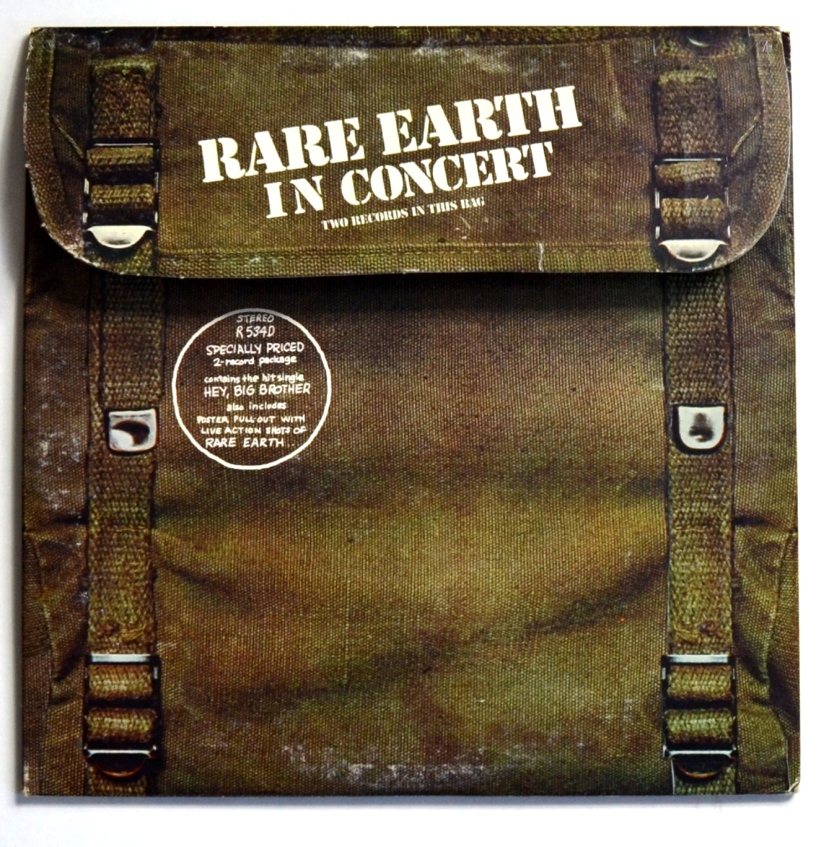 Rare Earth In Concert Front
