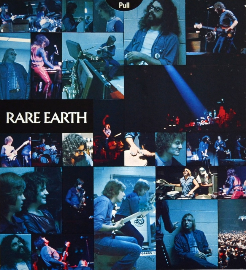 Rare Earth In Concert inner sleeve