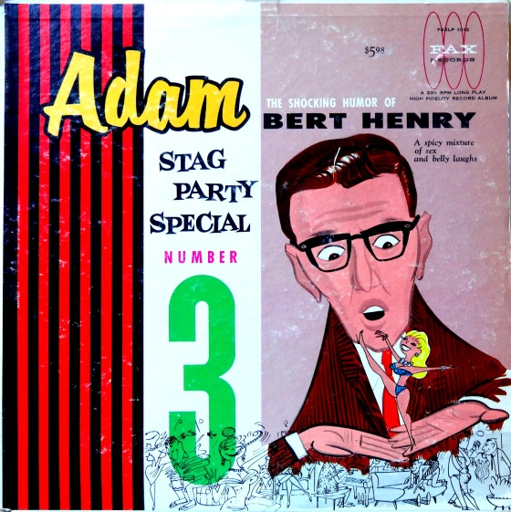 Adam Stag Party Special 3 Front