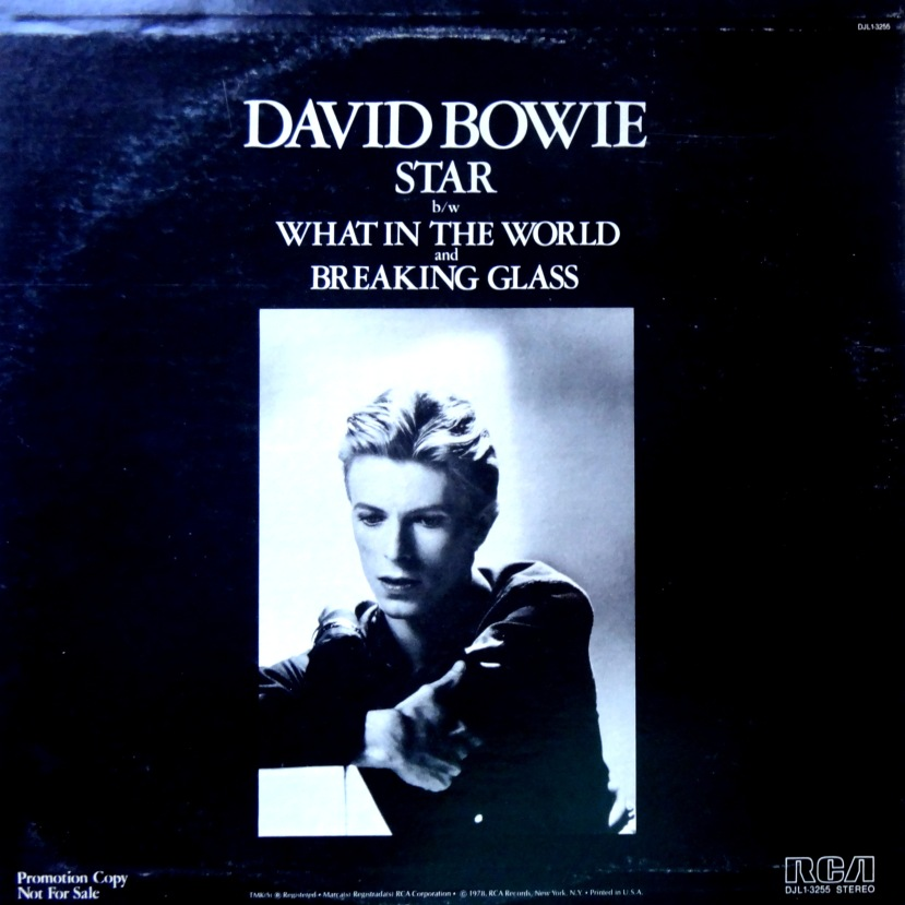 David Bowie Star Front