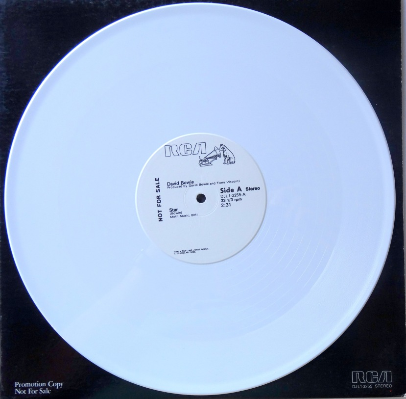 David Bowie Star White Vinyl