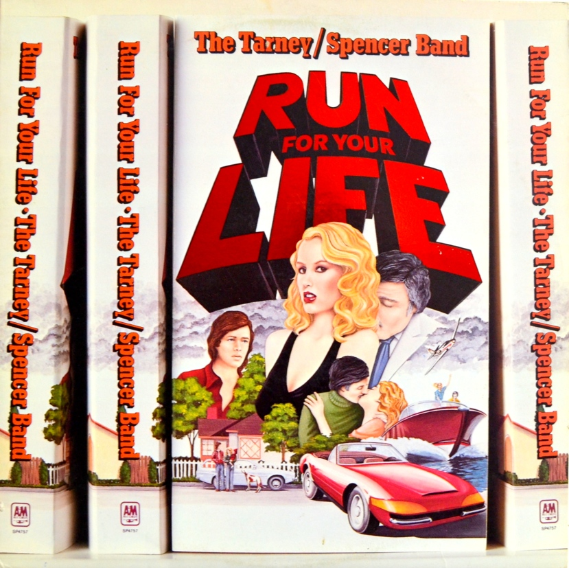 Tarney Spencer Band Run For Your Life front