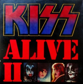 KISS Alive II front