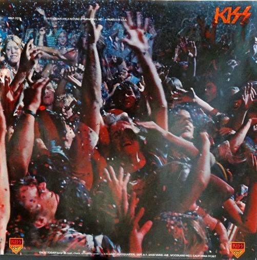 KISS Alive II inner sleeve front