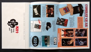 KISS Alive II insert back