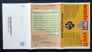 KISS Alive II insert front