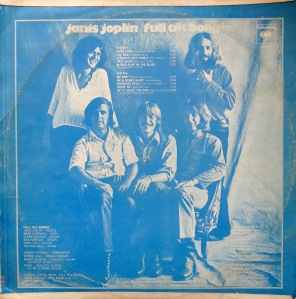 Janis Joplin Pearl Taedo back