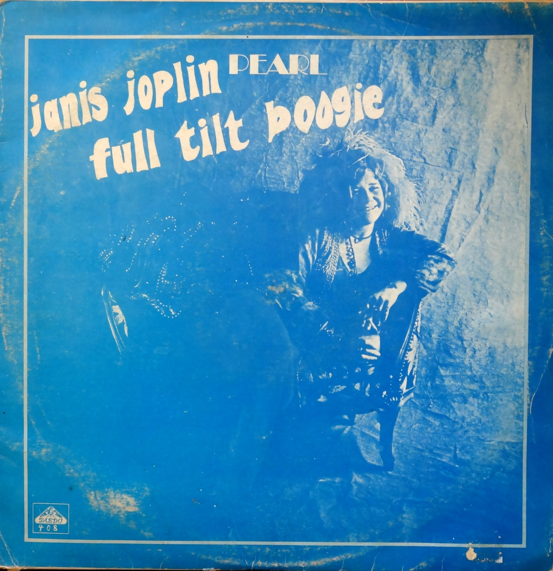 Janis Joplin Pearl Taedo front