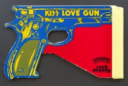 KISS Love Gun toy closed