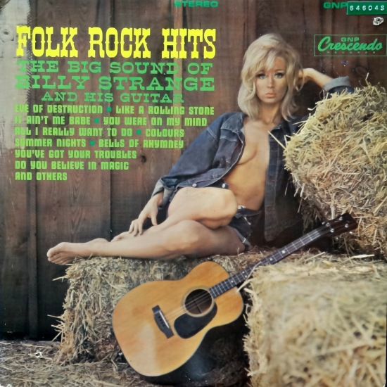 Billy Strange Folk Rock Hits Front