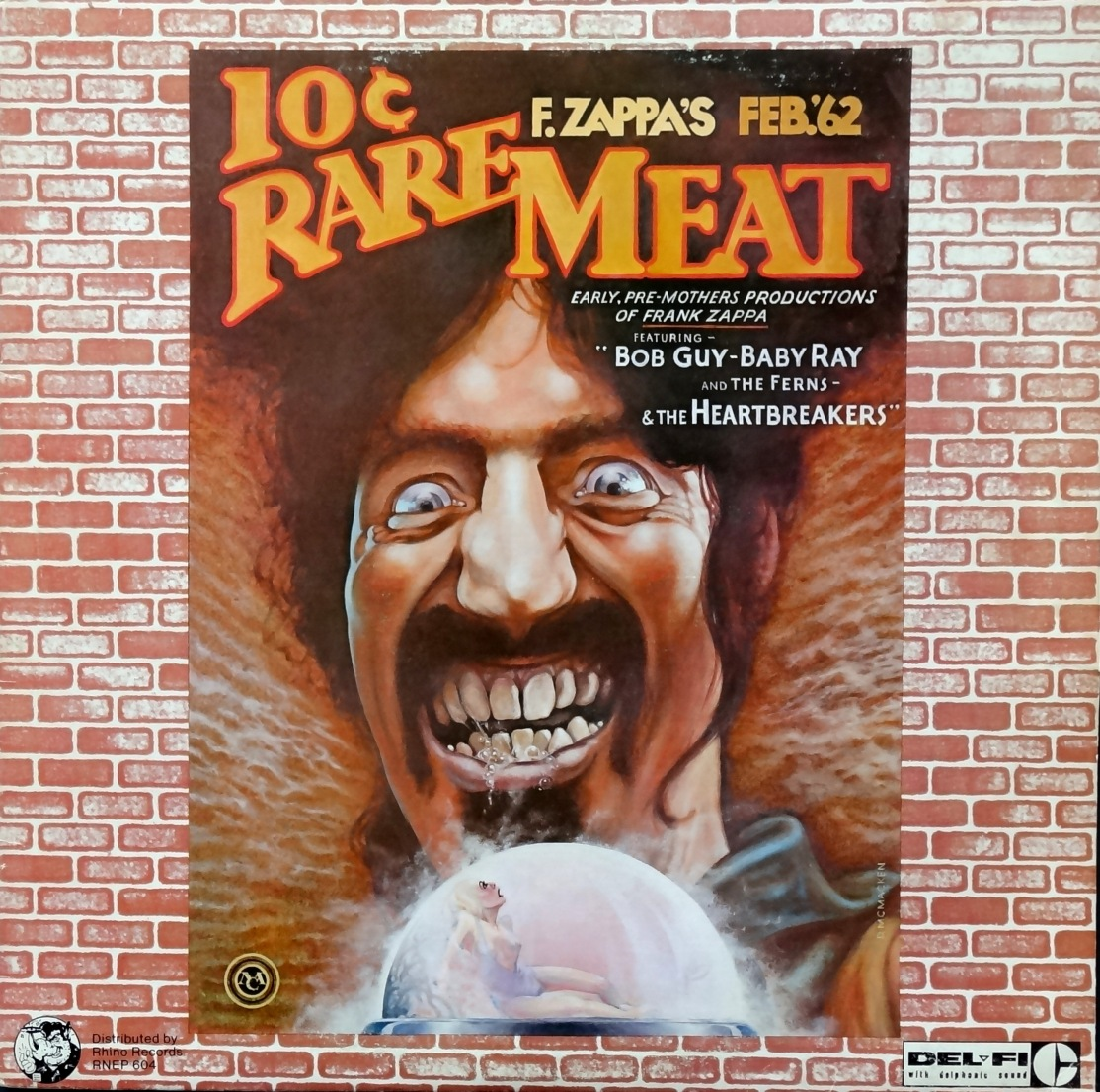 Frank Zappa Rare Meat front