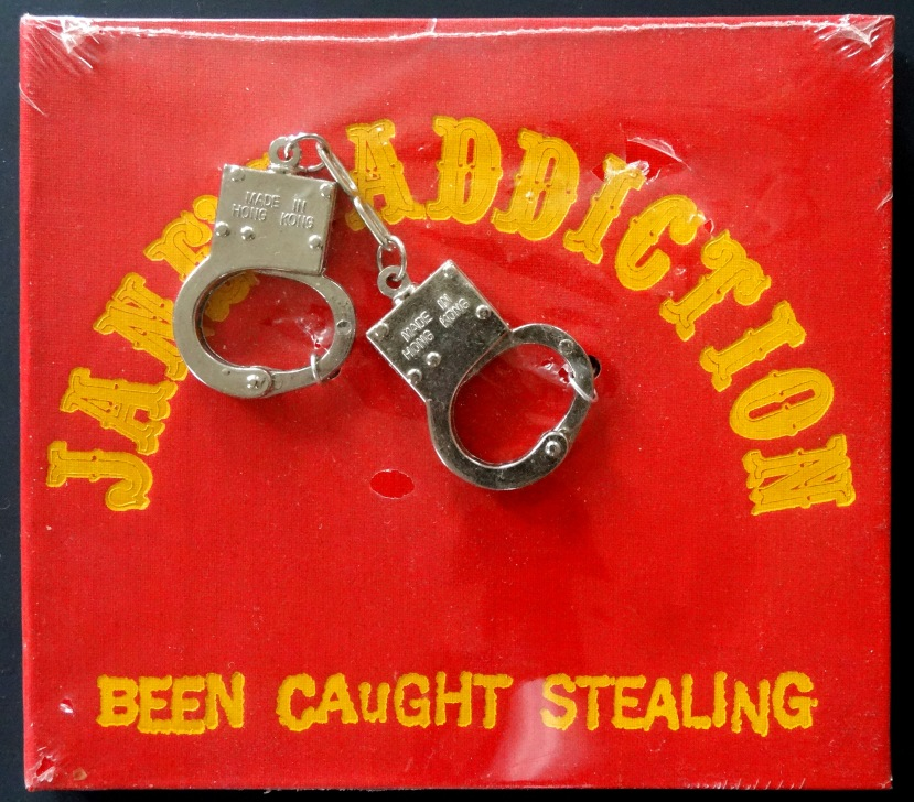 Janes Stealing handcuffs