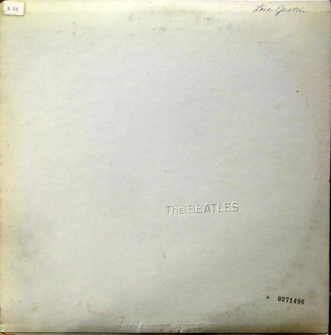 Beatles White Album front