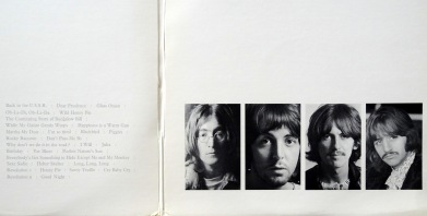 Beatles White Album gatefold