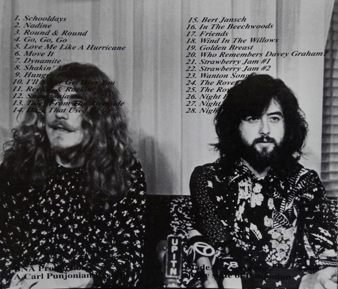 Led Zeppelin Johnny Kidd back
