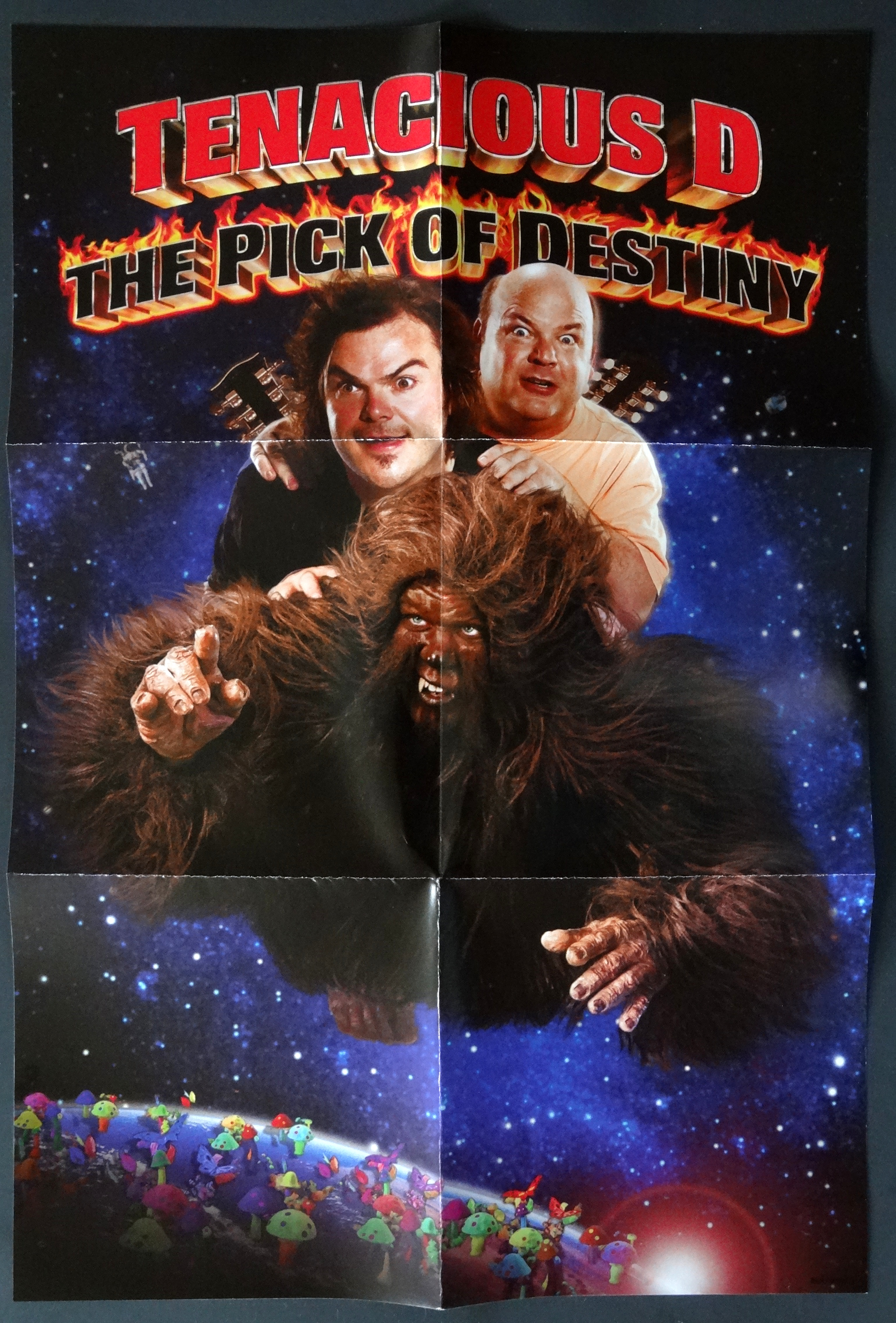 From The Stacks: Tenacious D – The Pick of Destiny (Deluxe ... Tenacious D Pick Of Destiny Poster