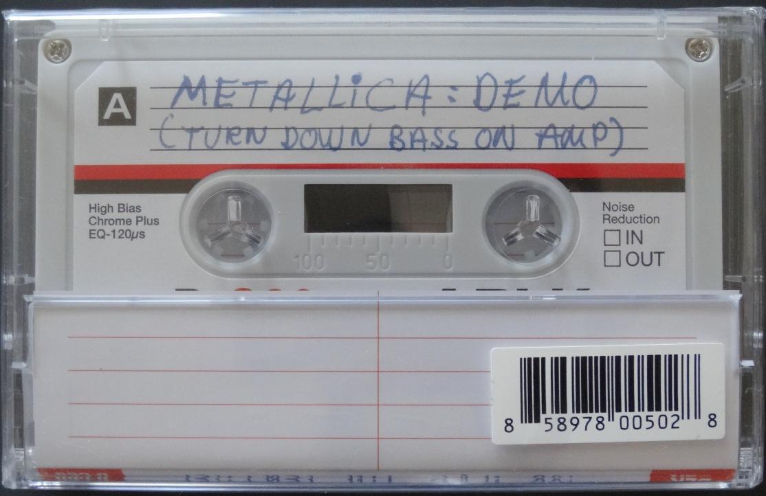 Metallica No Life Til Leather back