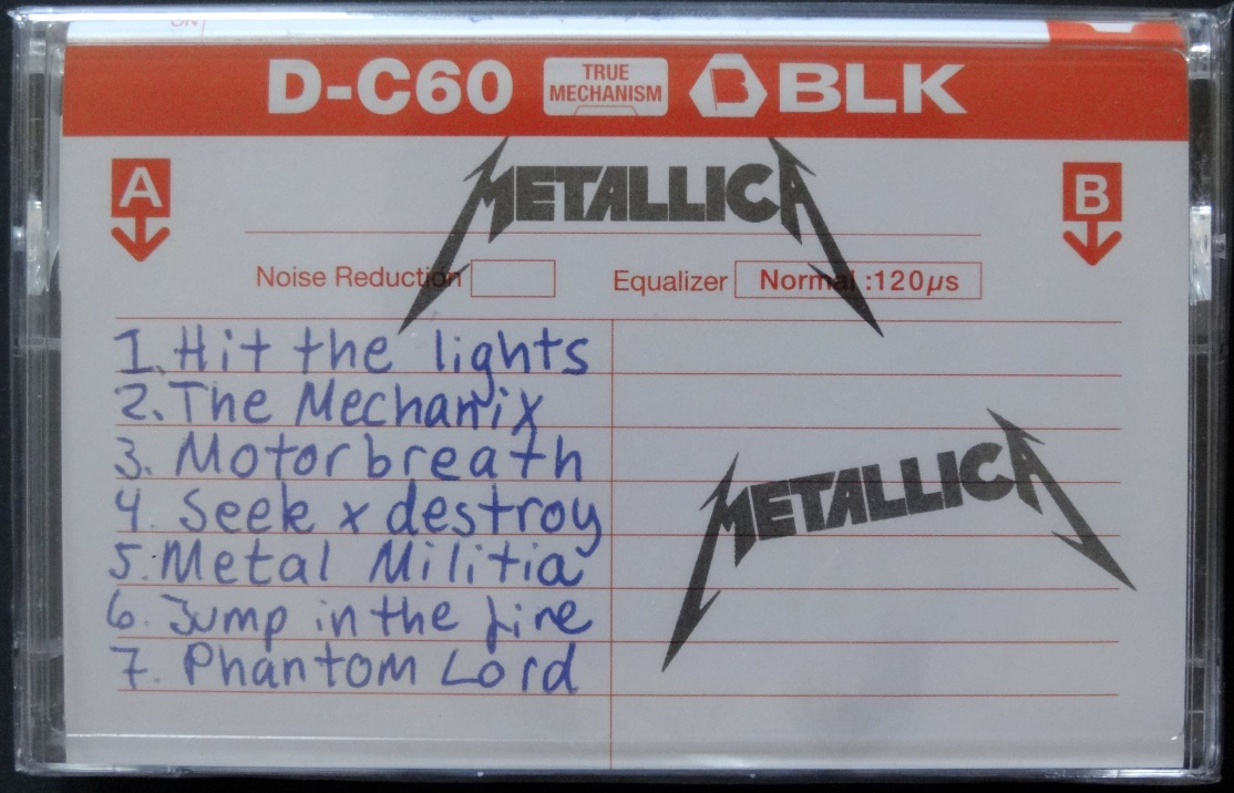 Metallica No Life Til Leather front