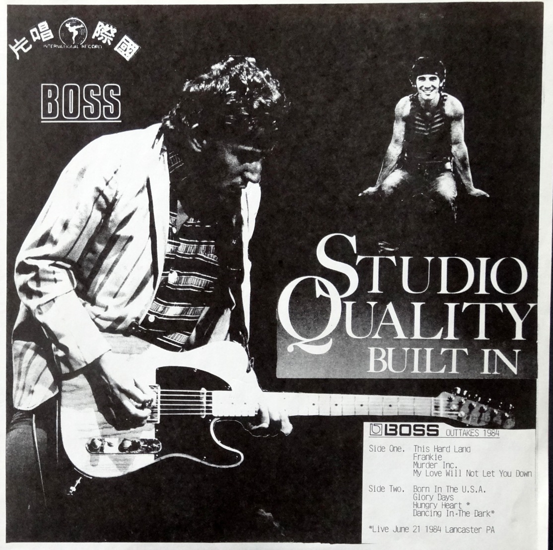 Springsteen Studio Quality front