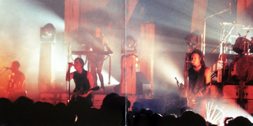 NIN Scary Monsters gatefold