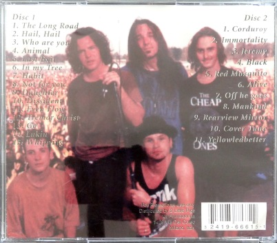 Pearl Jam Keys to Success back