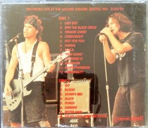 Pearl Jam Piss Bottle Men back