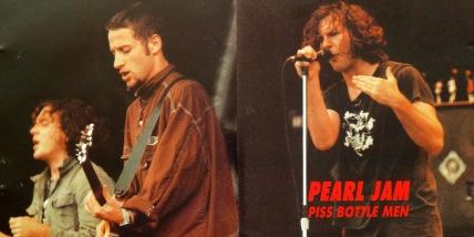 Pearl Jam Piss Bottle Men cover