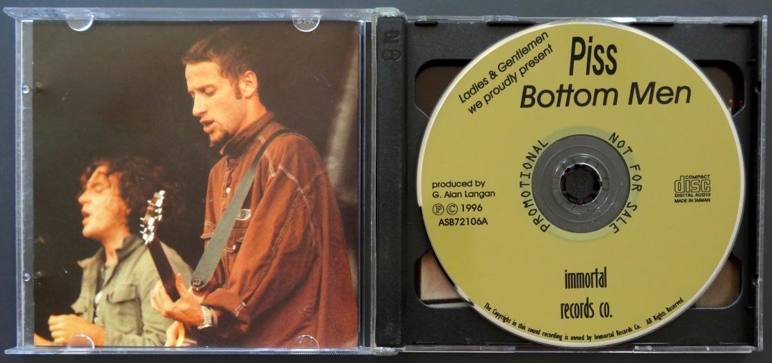 Pearl Jam Piss Bottle Men disc 1