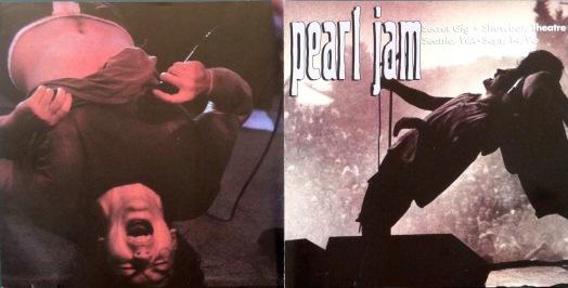 Pearl Jam Secret Gig cover
