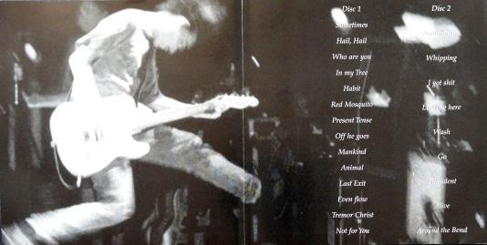 Pearl Jam Secret Gig inner