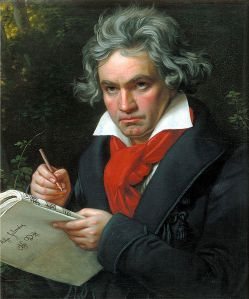 Joseph Karl Stieler's portrait of Beethoven