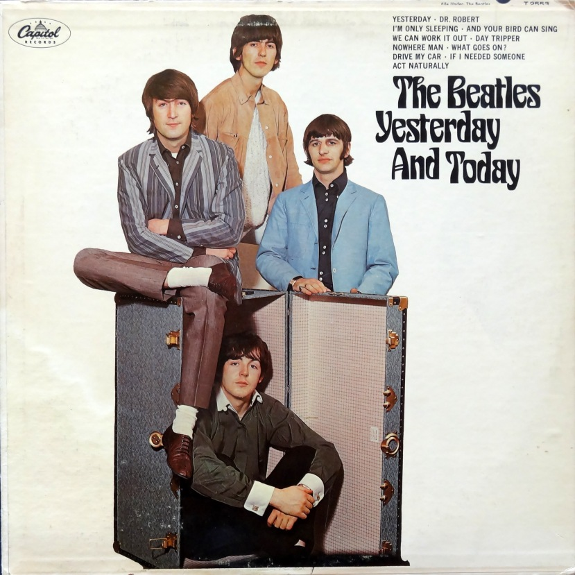 Beatles Yesterday and Today front